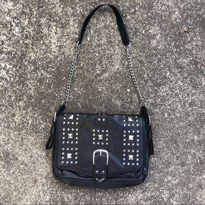 Rebecca Minkoff X Mark Black Faux Leather Purse